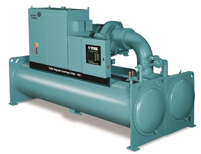 Johnson Controls enhances its portfolio of commercial and residential HVAC/R products with the expansion to 1,000 tons of cooling (3,500 kW) for its successful magnetic-bearing centrifugal chiller line, the YORK YMC2.