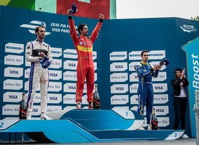 Maison Mumm Celebrates Formula E with Mumm Grand Cordon