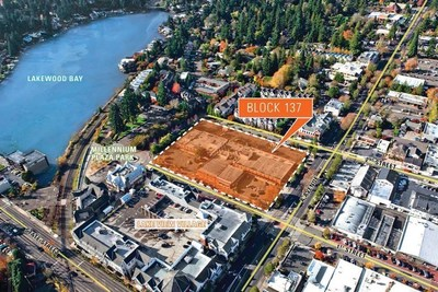 Bentall Kennedy, advisor to MEPT, announced today that Block 137 (330 1st Street) in Lake Oswego, Oregon will be developed by a joint venture including Multi-Employer Property Trust (MEPT), a $7.3 billion real estate equity fund, and PHK Development, Inc. The development will be a $103 million project that will include 200 apartment units, more than 40,000 square feet of commercial space and 430 parking spaces.