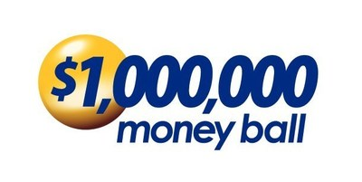 $1,000,000 Money Ball logo (PRNewsFoto/Virginia Lottery)