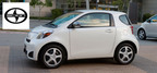 The 2014 Scion iQ has a few more tricks up its sleeve to show customers than the 2014 Fiat 500. (PRNewsFoto/Scion of Naperville)