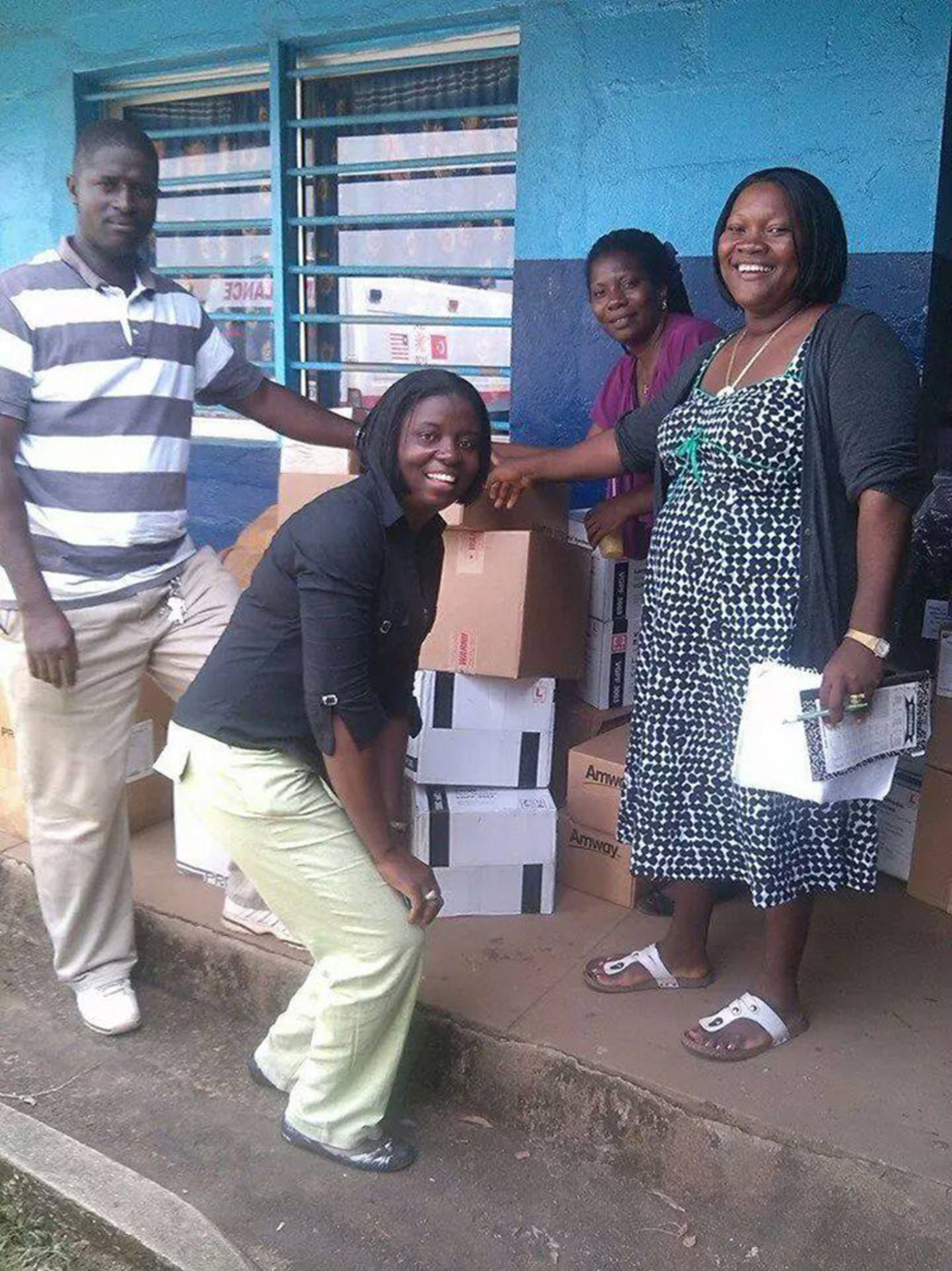 Wellness Advocate's Adoption Journey helps Ebola Infected Areas of Liberia