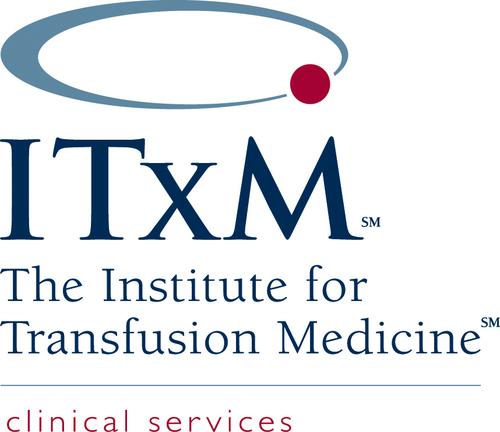 The Institute for Transfusion Medicine (ITxM) Logo. (PRNewsFoto/Cord Blood Registry) (PRNewsFoto/CORD BLOOD REGISTRY)