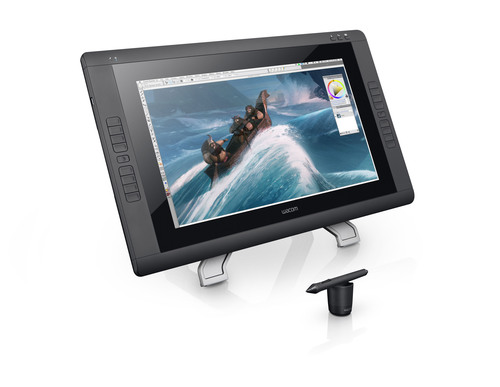 Wacom's Cintiq 22HD delivers creative control and comfort to professional illustrators, designers and ...