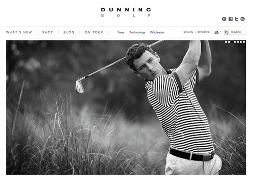 Dunning Golf Launches New Flagship Website