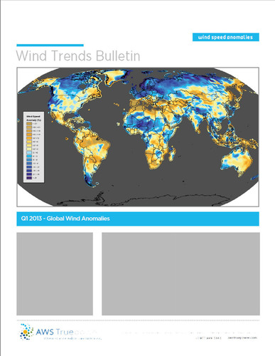 Redesigned Wind Trends Bulletin Expands to Include Additional Regions