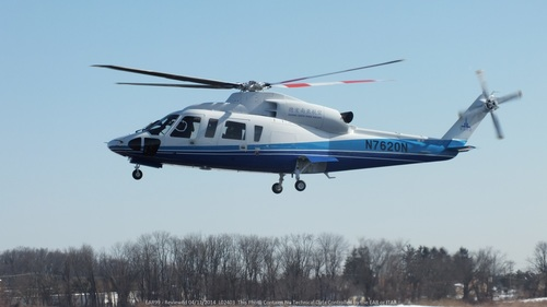 Following the recent certification by the Civil Aviation Administration of China, Yunnan Jingcheng Group will receive the first Sikorsky S-76D™ in China. (PRNewsFoto/Sikorsky Aircraft Corporation)
