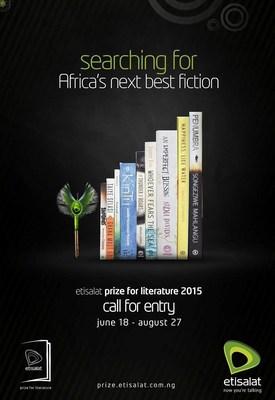 Entries Still Open for Etisalat Prize for Literature 2015 (PRNewsFoto/Etisalat Nigeria)