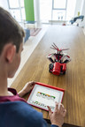 LEGO(R) MINDSTORMS(R) EV3 Programmer App, a new application that allows builders to create programs for MINDSTORMS robots directly from iOS and Android tablet devices, announced September 25, 2015.