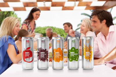 DRY Soda has extended its offerings and launched in Rexam 12oz. SLEEK(R) cans.  (PRNewsFoto/DRY Soda)