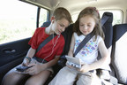 Family car journey games such as I spy at risk of disappearing as children prefer electronic gadgets to beat boredom, finds Hertz Family Travel Report (PRNewsFoto/The Hertz Corporation)