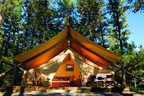 One-Of-Five Hottest Trends In Girlfriend Getaways, Glamping Experience Is Grand Prize In Skinny Cow's