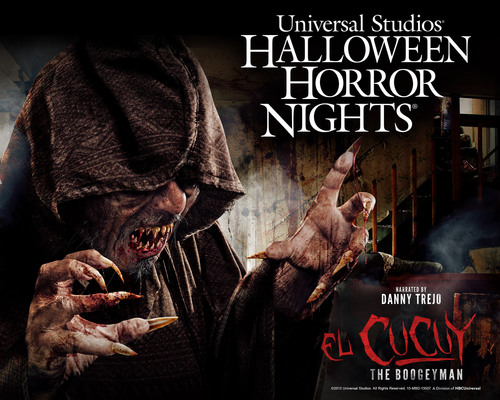 "Universal Studios Hollywood Brings to Life the Fearful Legend of ""El Cucuy: The Boogeyman"" Exclusively at ""Halloween Horror Nights"" Chillingly Narrated by Leading Villain Character Actor Danny Trejo.  (PRNewsFoto/Universal Studios Hollywood)"