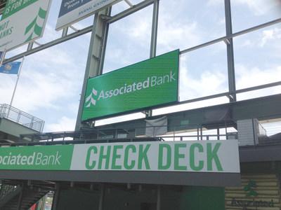 Associated Bank Check Deck Screen