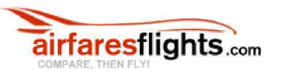 AirfaresFlights.com logo. (PRNewsFoto/AirlinesFlights.com) (PRNewsFoto/AIRLINESFLIGHTS.COM)