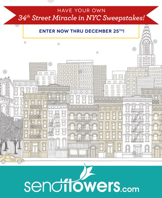 SendFlowers.com Holiday Sweepstakes. Enter to win the $1000 prize!