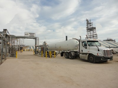 OCI Partners LP Announces Implementation of a State-of-the-Art Ammonia Truck Loading Facility