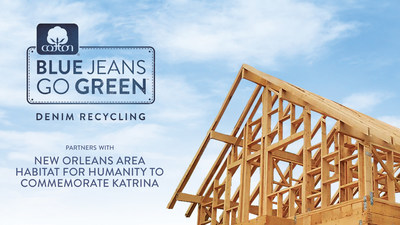 On behalf of the Cotton Incorporated Blue Jeans Go Green(TM) denim recycling program, nine-time Grammy Award-winning singer-songwriter Sheryl Crow is asking consumers to recycle their unwanted denim to help rebuild New Orleans. Blue Jeans Go Green(TM) has set a collection goal of 10,000 pieces of denim, which will be transformed into UltraTouch(TM) Denim Insulation by manufacturing partner Bonded Logic, Inc., and then provided to a ten-home Build-A-Thon being conducted by New Orleans Area Habitat for Humanity set for May 20 - 30.