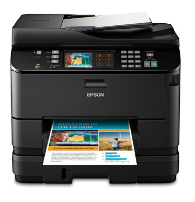 Epson WorkForce Pro WP-4540.  (PRNewsFoto/Epson America, Inc.)