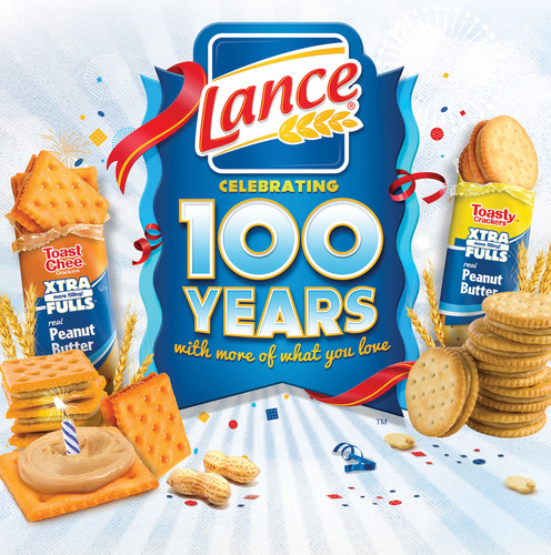 Lance Gives Consumers More Products to Love in 2013.  (PRNewsFoto/Lance(R) Sandwich Crackers)