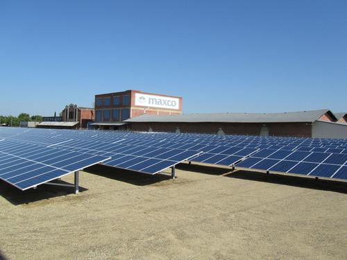 Cenergy Power Turns on 1.1 Megawatt Solar System for Maxco Packaging