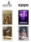 Purple Haze Properties LLC Partners With Zippo To Release Four Jimi Hendrix Themed Lighters