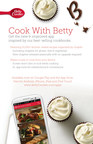 Betty Crocker(TM), a leader in the food content space, announced its popular free digital cookbook app is now available for Android at the Google Play Store. Inspired by its best-selling cookbooks, the Betty Crocker app features more than 15,000 kitchen-tested recipes, all at your fingertips, cutting through clutter to simplify cooking with a device.