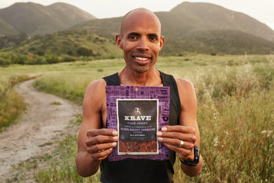 Meb Keflezighi and KRAVE jerky