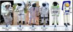 ILC Dover's advanced spacesuit evolution.  (PRNewsFoto/ILC Dover)