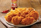 Texas Pete Wings(R) are juicy, marinated, hand-battered wings, fried up golden brown and seasoned with an extra kick of spicy Texas Pete(R). They're available for a limited time only at your local Church's.