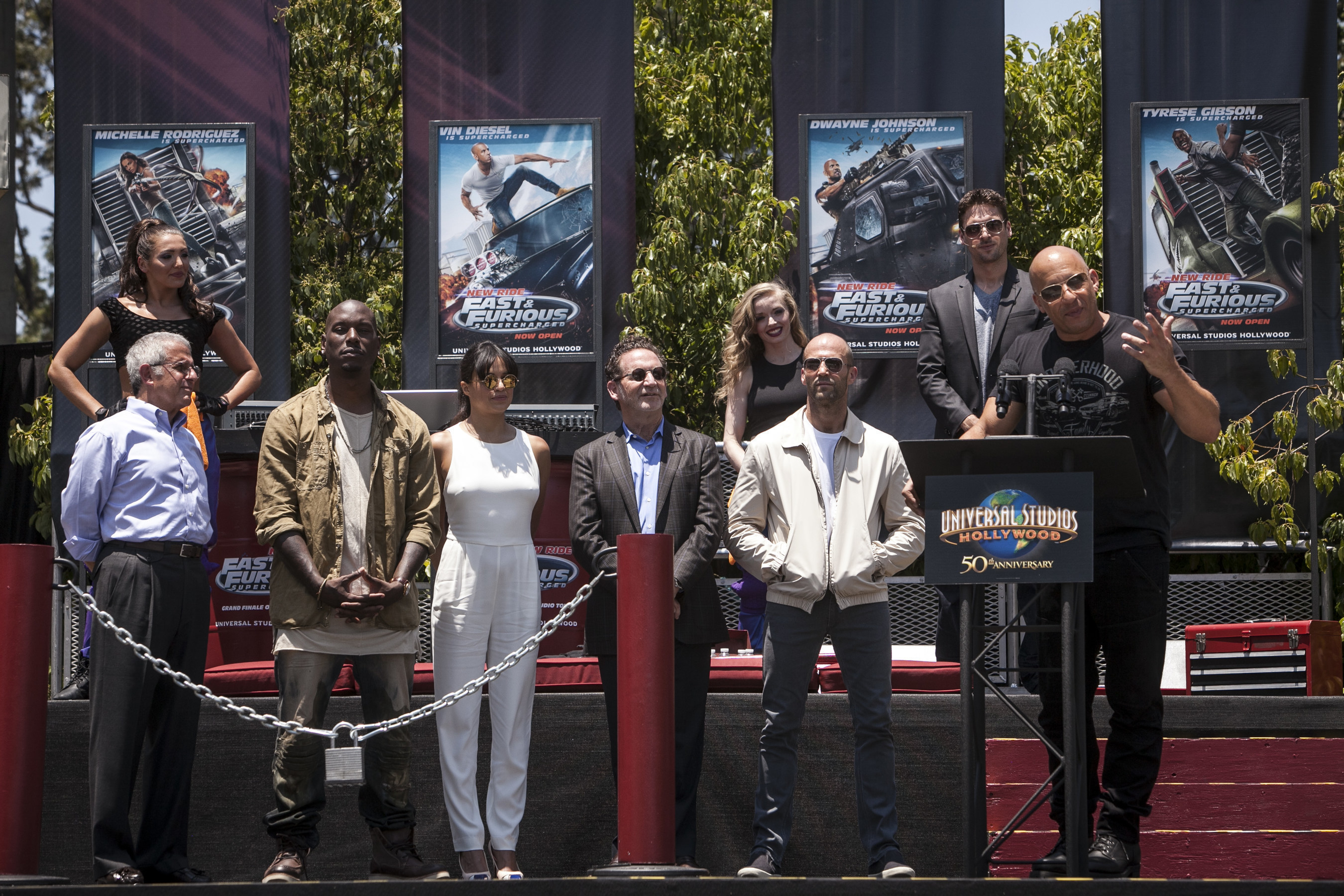 'Fast & Furious--Supercharged' Races onto the Scene at Universal Studios Hollywood