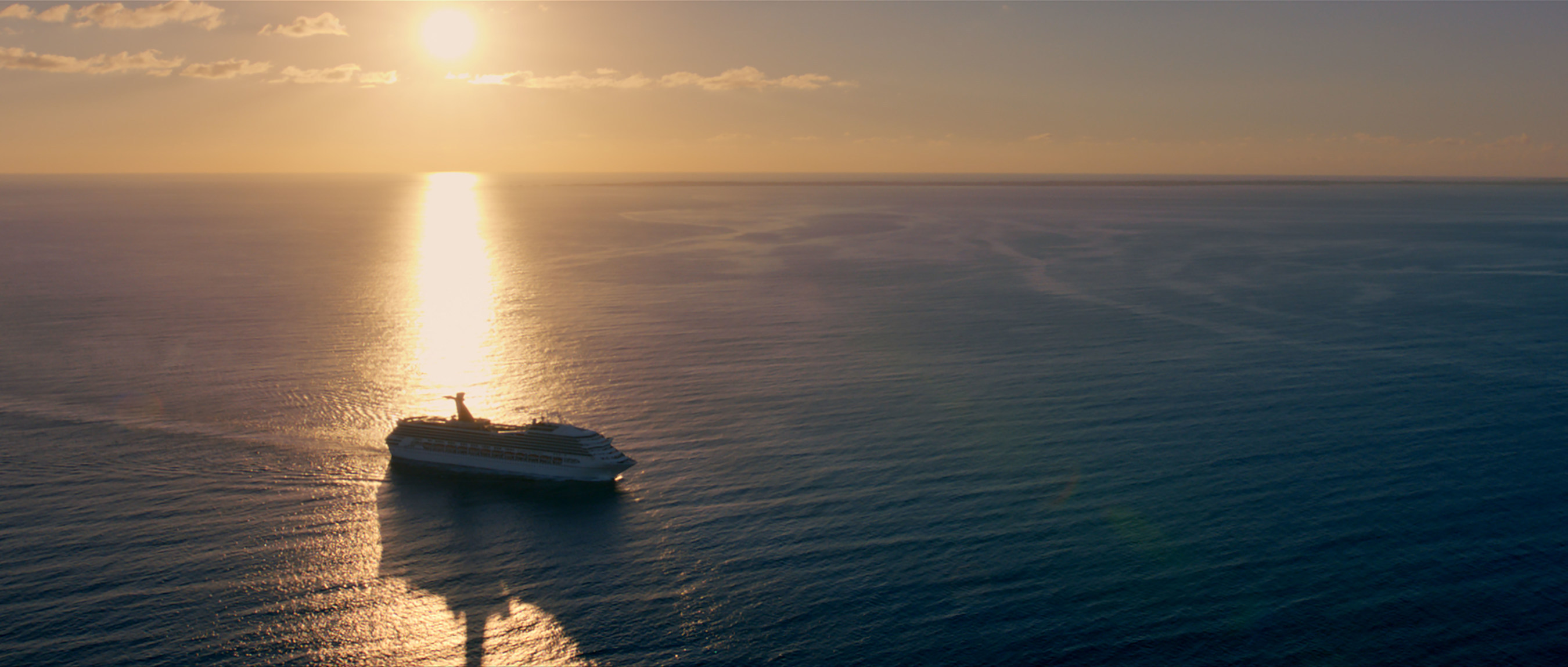 """Carnival Corporation & plc, the world's largest travel and leisure company, tonight aired its first-ever Super Bowl TV commercial entitled """"Come Back to the Sea"""" - a 60-second spot combining stunning cinematic images of the ocean and stirring words from President John F. Kennedy to create an emotional storyline about people's universal connection with the sea."""