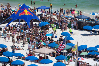 Flora-Bama Lounge & Package's Mullet Toss and Gulf Coast's Greatest Beach Party