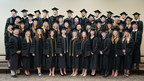 The University of St. Augustine for Health Sciences Austin, Texas campus celebrated its spring commencement by presenting 43 graduates with Doctor of Physical Therapy degrees.