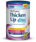 Resource® ThickenUp® Clear Shown To Reduce Aspiration Risk For Dysphagia Patients