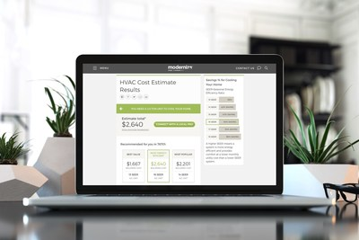 ModHVAC air conditioning and heating cost calculator