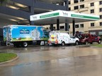 TruStar Energy's new Houston public CNG fueling station.