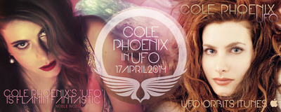 """COLE PHOENIX RISES IN """"UFO"""" - YOU'RE GONNA SEE HER SOAR!.  (PRNewsFoto/Noble NoBull)"""