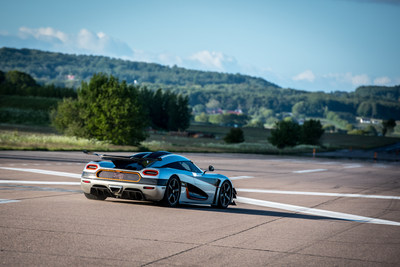 Koenigsegg One:1 is fastest production car ever to wear Michelin Tires