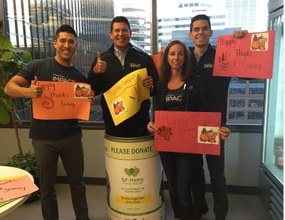 DocuSign CEO Keith Krach And DocuSign Employees Giving Time To Meals On Wheels In San Francisco