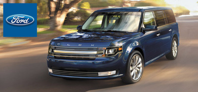 The Ford Flex was named one of Kelley Blue Book's 12 Best Family Cars for 2014.  (PRNewsFoto/Mike Castrucci Ford of Alexandria)