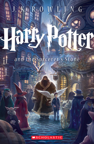 First of seven new covers by Kazu Kibuishi for U.S. trade paperback editions of the Harry Potter Series coming ...