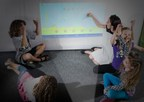 The Touchjet Pond Projector brings collaboration and cooperative learning to classrooms.