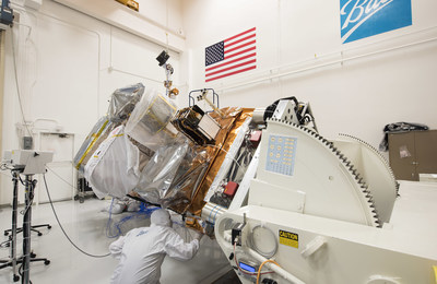 The Ball Aerospace Joint Polar Satellite-1 being built for NOAA and NASA now hosts four of five instruments. The instruments will fly onboard the nation's next polar-orbiting weather satellite which is moving toward environmental testing by early 2016 with on-time delivery scheduled for late 2016, followed by launch scheduled for no later than the second quarter of 2017.