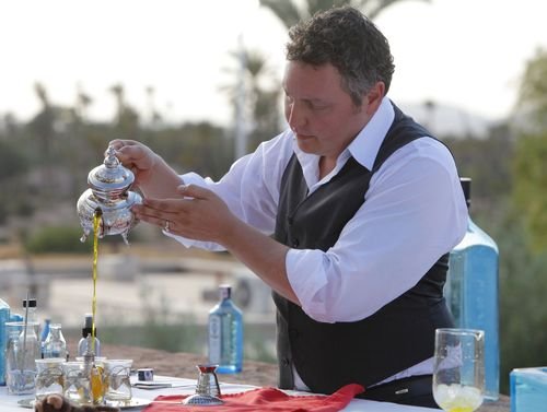 David Wolowidnky – Winner of Bombay Sapphire World's Most Imaginative Bartender competition.