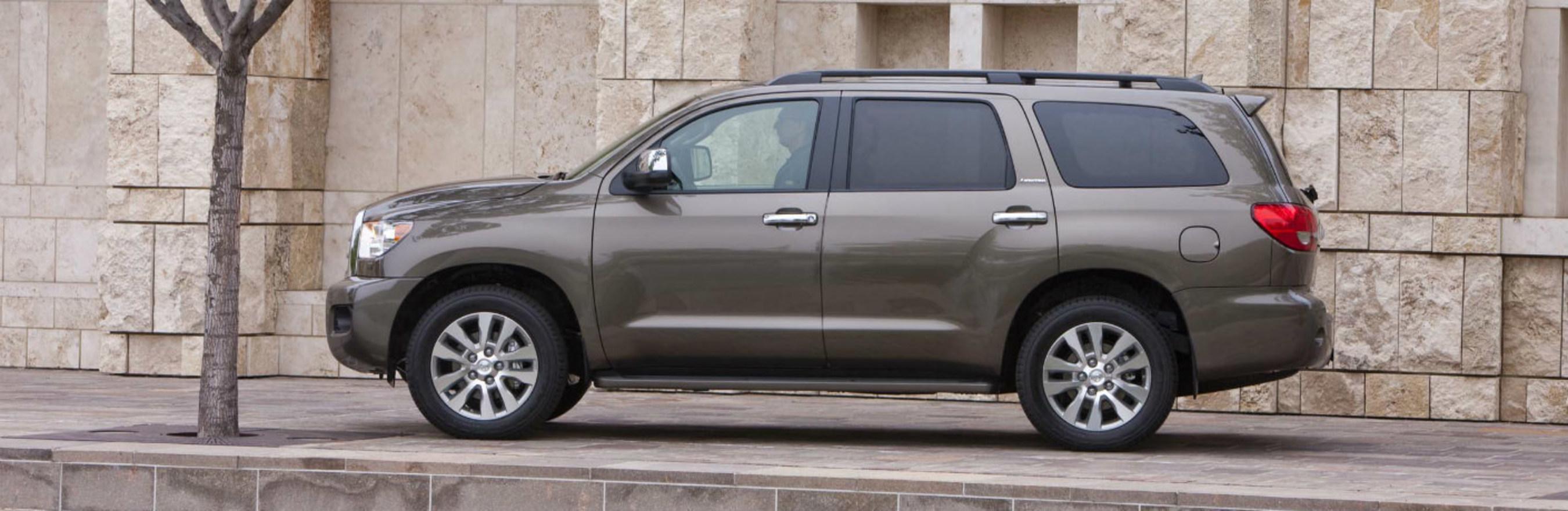 Toyota of Naperville puts luxury SUVs on center stage