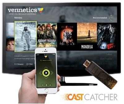 Vennetics and Digisoft.tv Announce Strategic Partnership Agreement (PRNewsFoto/Vennetics.com)