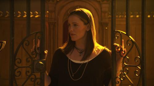 Jennifer Garner And Alfred Molina Step Into The Confessional For 'Serena'