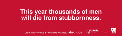 AHRQ and Ad Council Encourage Men to Take Preventive Steps in Their Health Care