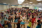 Jazzercise, Inc. gets kids moving in schools with free Kids Get Fit dance parties. (PRNewsFoto/Jazzercise, Inc.)